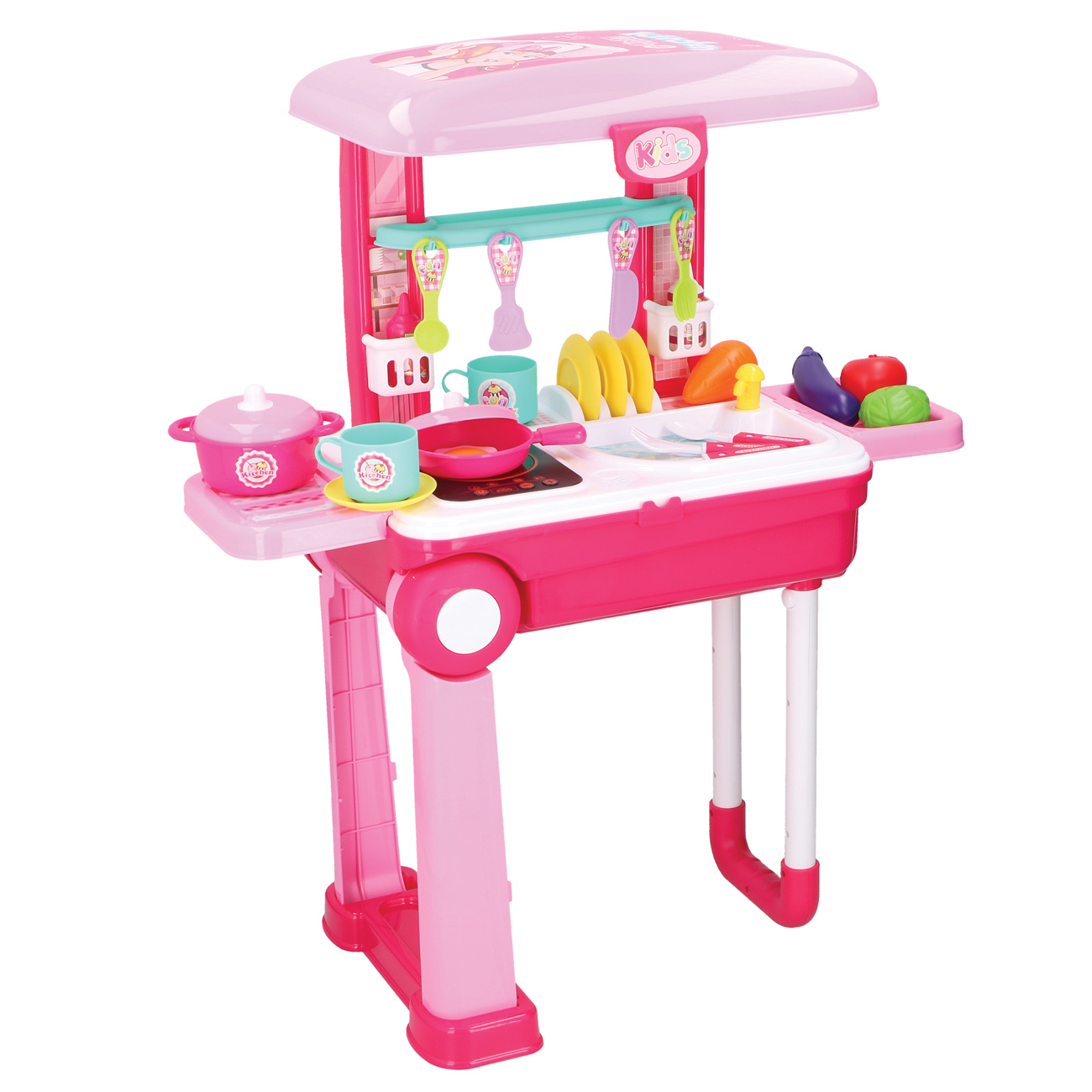 Keukens playset trolley