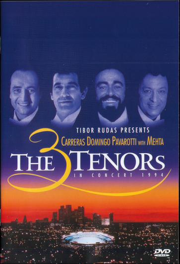 3 Tenors (Domingo / Carreras / Pavarotti) DVD