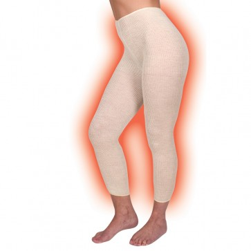 Thermo leggings Crème
