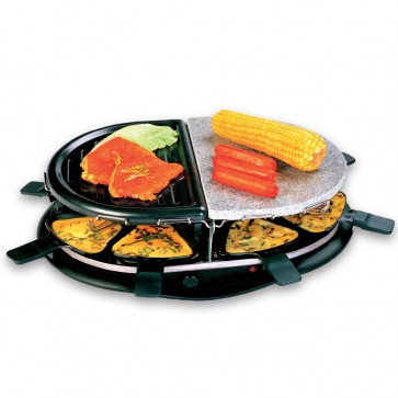 Raclette/grill set