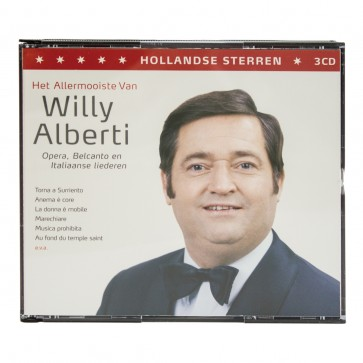3 CD's Willy Alberti