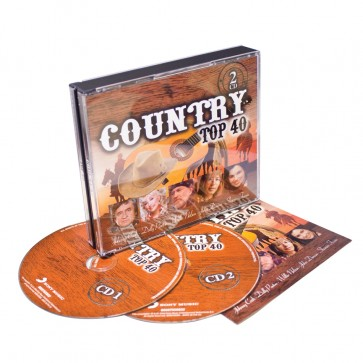 2CD COUNTRY TOP 40