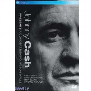 DVD Johnny Cash - A concert Behind Prison Walls