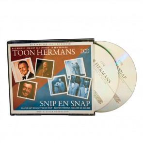 2 CD Box Toon Hermans en Snip en Snap