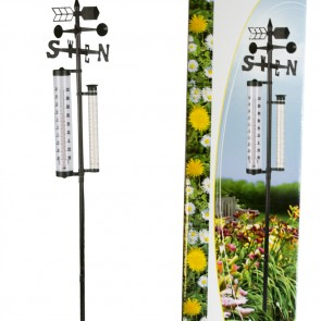 Life Time Garden weerstation: thermo/regen/wind-meter