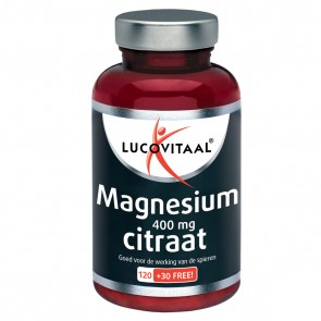 Magnesium Citraat 400mg, 150 tabl.