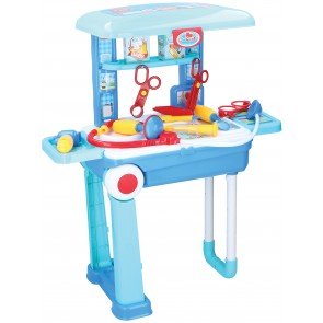 Dokter playset trolley