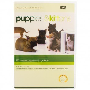 DVD puppy's en kittens